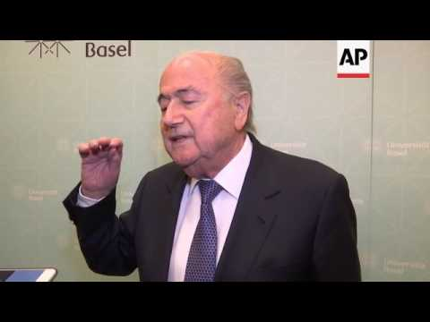 Blatter: not guilty of knowing of FIFA corruption