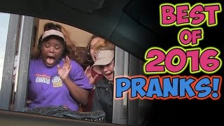 BEST OF 2016 PRANKS COMPILATION!!