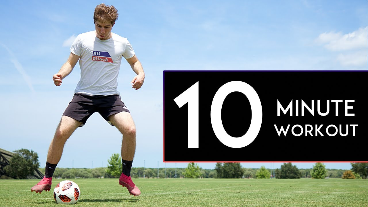 Get Faster Feet in 10 MINUTES! 10 Min Footwork Workout
