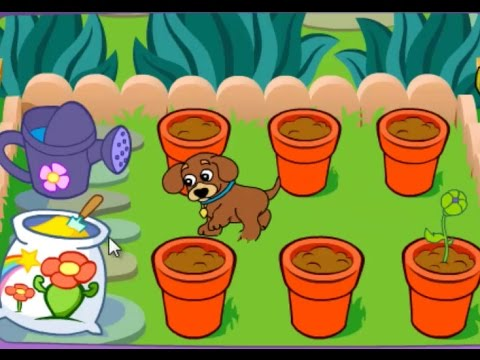Dora S Magical Garden Games Dora The Explorer Youtube
