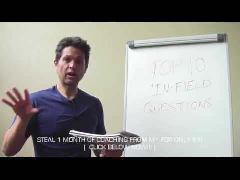 TOP 10 QUESTIONS WOMEN ASK MEN WHO APPROACH THEM! 100% REJECTION PROOF!!! ( FULL VIDEO )