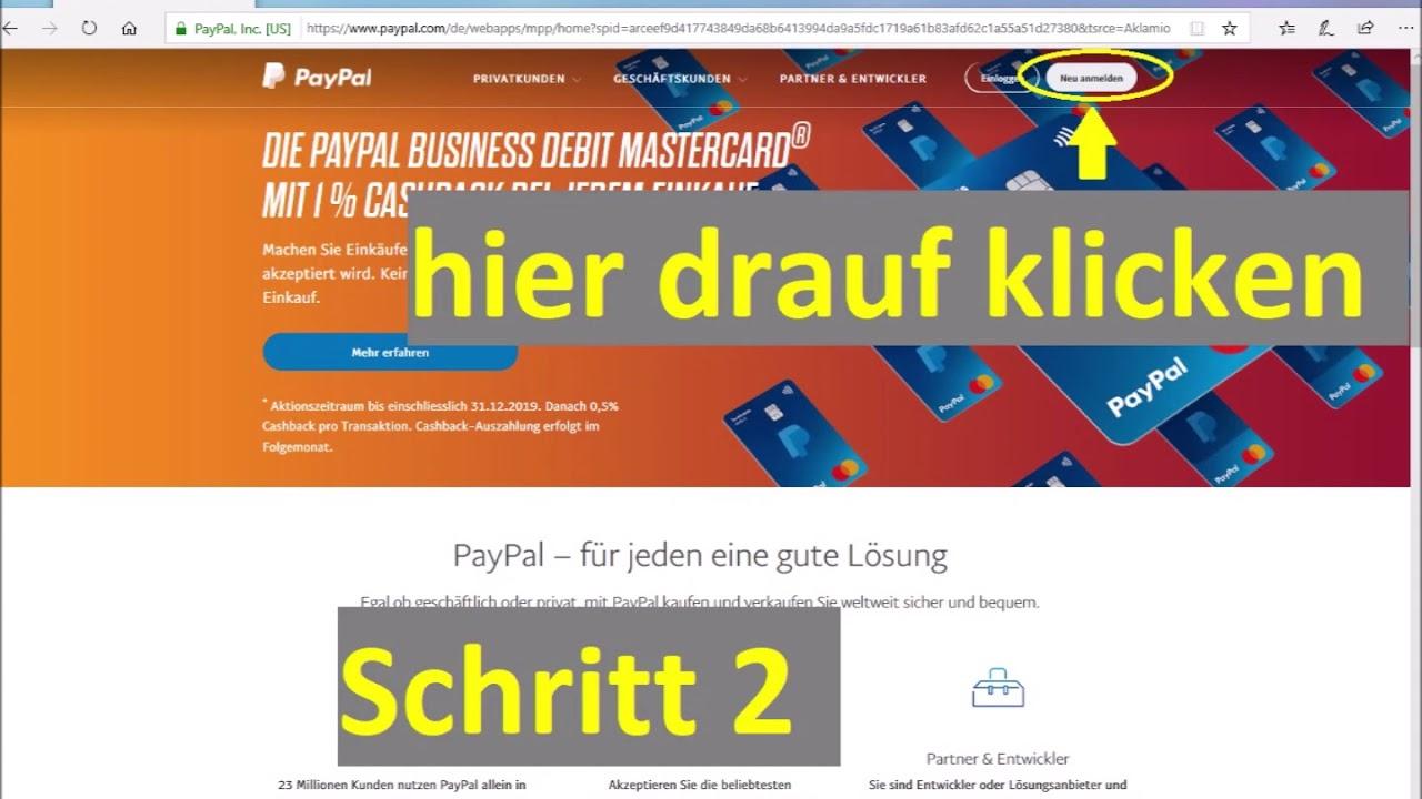 Paypal Konto Einrichten Kostenlos