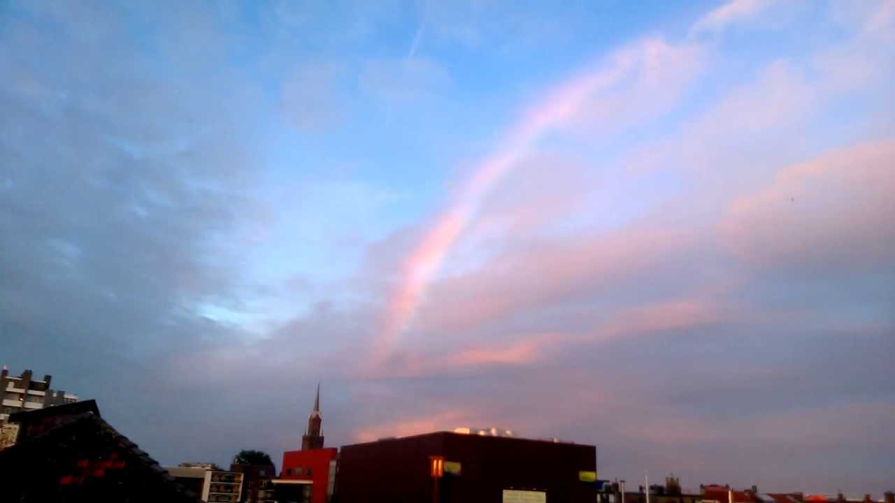 Cloud Seeding Rainbow Whitout Rain 16 06 2013 THE NETHERLANDS PART 2