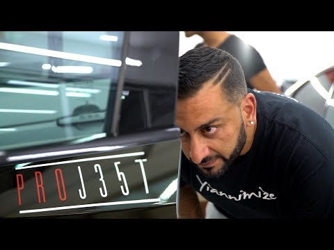 Yianni Checks Out Car Wrapping Company PROJ357 in Cyprus