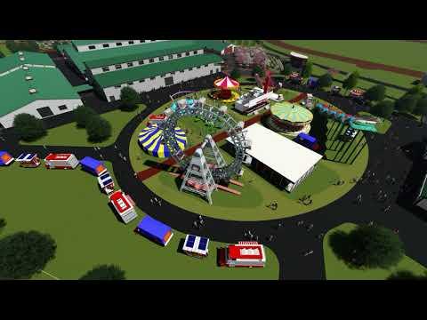 Pickaway County Fairgrounds Master Plan Animation