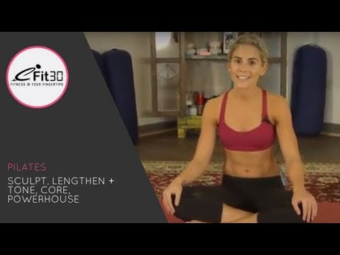 Pilates, Sculpt, Lengthen + Tone, Core, Powerhouse