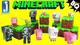 Papercraft Animal Mobs Jazwares Minecraft Review