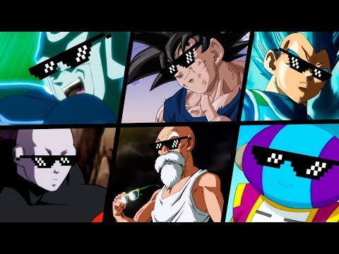 TOP 5 MELHORES TURN DOWN FOR WHAT DRAGON BALL SUPER | #3
