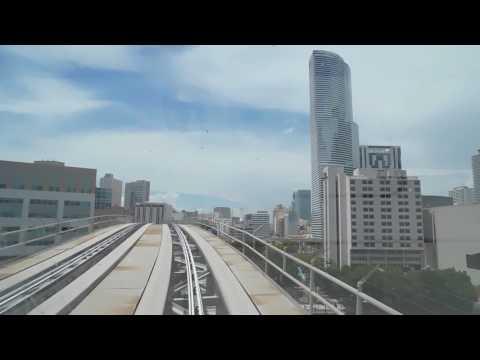 🚇/💺 Miami-Dade Transit: Metromover (Brickell Loop & Omni Loop) -- FULL RIDE!