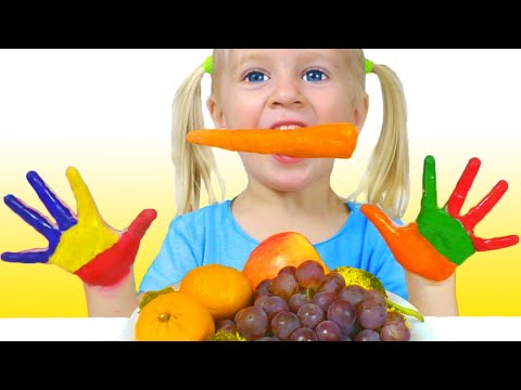 Lunch Song Spanish Version | Canciones Infantiles Con Katya Y Dima