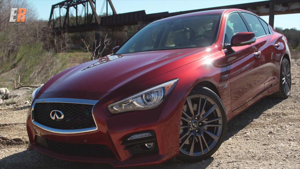 2016 Infiniti Q50 Red Sport 400 Road  Track Review  YouTube