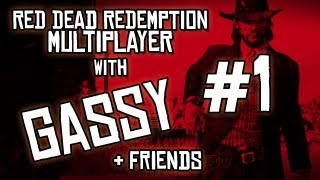 Red Dead Redemption: Free Roam w/ Gassy, Diction, & Chilled #1