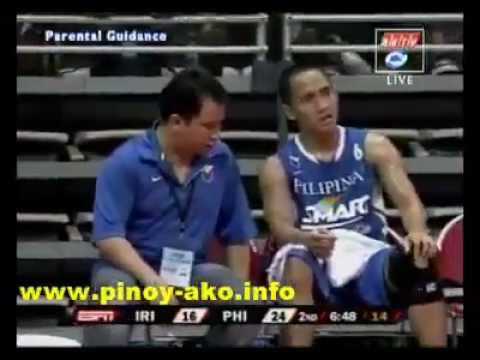 Smart Gilas Pilipinas vs Iran Jones Cup 2011 Part 2