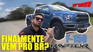 Andamos Na Ford F-150 Raptor. Será Que Vem Pro Brasil? / Vrum Brasília