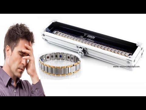 Магнитный браслет от давления Vision Лучшие магнитные браслеты Vision
