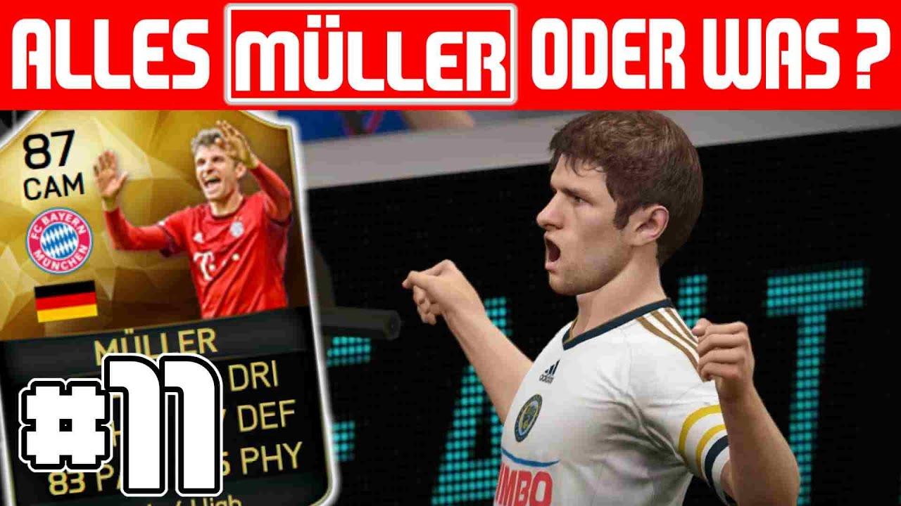 Alles Müller Oder Was Müller Spielt Immer 11 Fifa 16 Youtube
