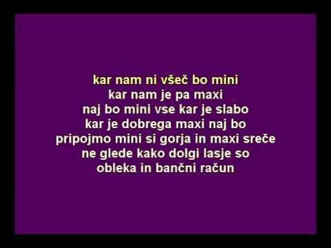 Karaoke - Bele Vrane - Mini maxi