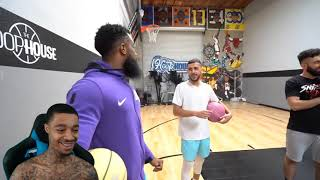 FlightReacts Cash vs Brawadis 1v1 Rivalry Basketball Game!