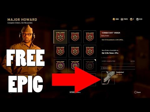 "FREE EPIC ""COMBATANT"" VARIANT ! 