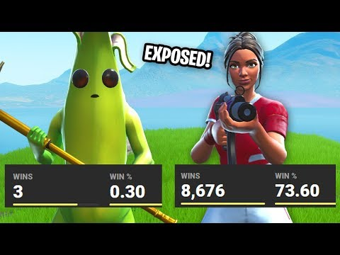 I EXPOSED player's STATS that I 1v1'd on Fortnite... (im surprised)