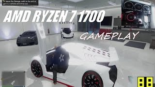 GTA 5 RYZEN 1700 EVGA GTX 1070 GAMEPLAY AND TIPS (1080P PRESET)