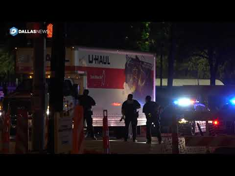 4 arrested after fleeing from Dallas police in U Haul carrying stolen motorcycles