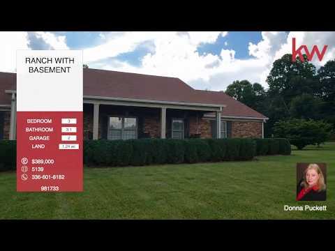 101 Cedarwood Dr. Jamestown NC 27282 $389,000