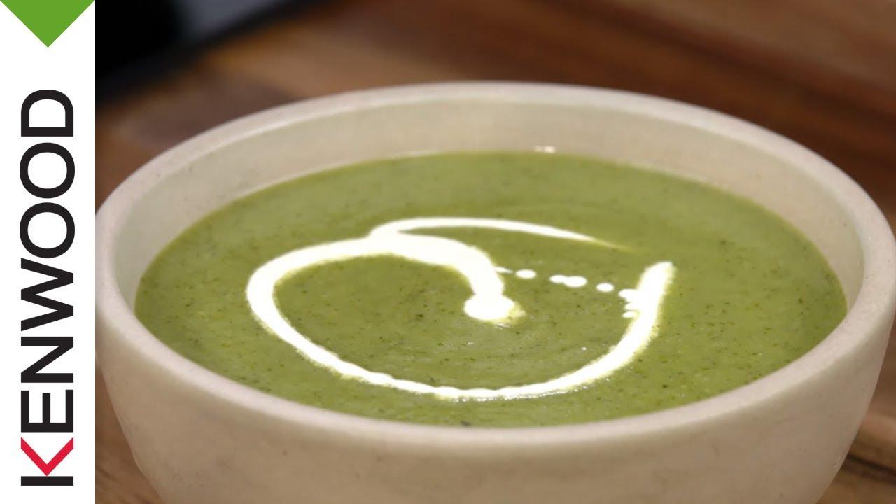 recette de la soupe au brocoli et aneth avec le robot cuiseur kcook multi de kenwood youtube. Black Bedroom Furniture Sets. Home Design Ideas