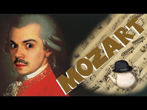Amadeus Mozart, un génie de la musique. Teatime!