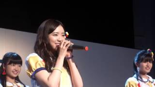 広島県代表は、アクターズスクール広島出身の 谷 優里ちゃんです。