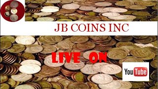 Special coin roll hunt livestream and auction!