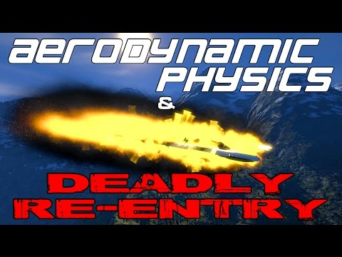 Space Engineers - SHE'S BREAKING UP! - Testing Draygo's Aerodynamic Physics & Deadly Re-Entry
