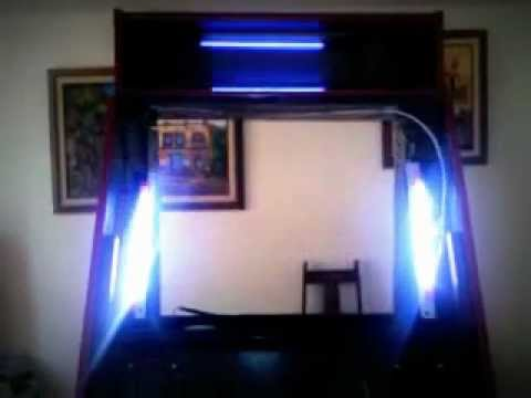 Luces audioritmicas para rockola leds youtube - Luces led a pilas para armarios ...