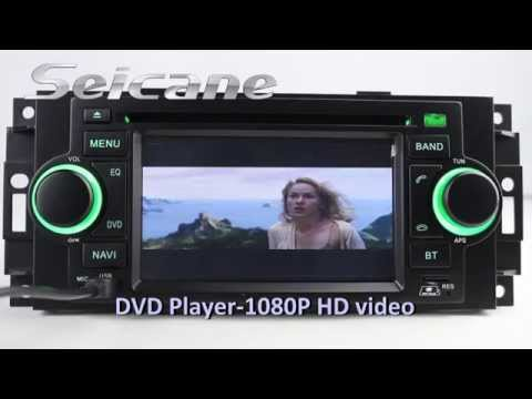 Cortex A9 GPS Navigation DVD Autoradio for Chrysler Aspen Concorde Pacifica 2002-2008 with TV BT