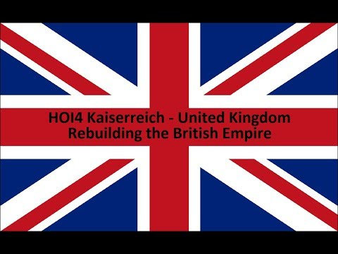 HOI4 Kaiserreich United Kingdom EP1 - T.E Lawrence Takes Over