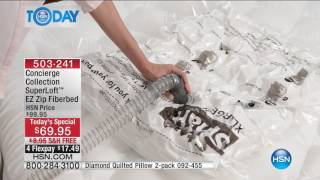 HSN   HSN Today: Concierge Collection Bedding / Beautyrest Mattresses 01.16.2017 - 08 AM