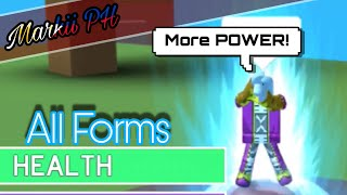 [New Game!] FORMS! | ShowCase! | ROBLOX: Dragon Ball Golden Wind!
