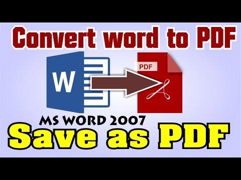 Office 2007 pdf