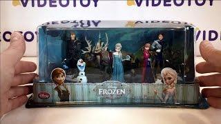 Фигурки Холодное сердце набор из 6 предметов Анна и Эльза принцессы из мультфильма Frozen 0