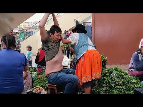 Spiritual Cleansing in Cuenca Market: Unedited Version