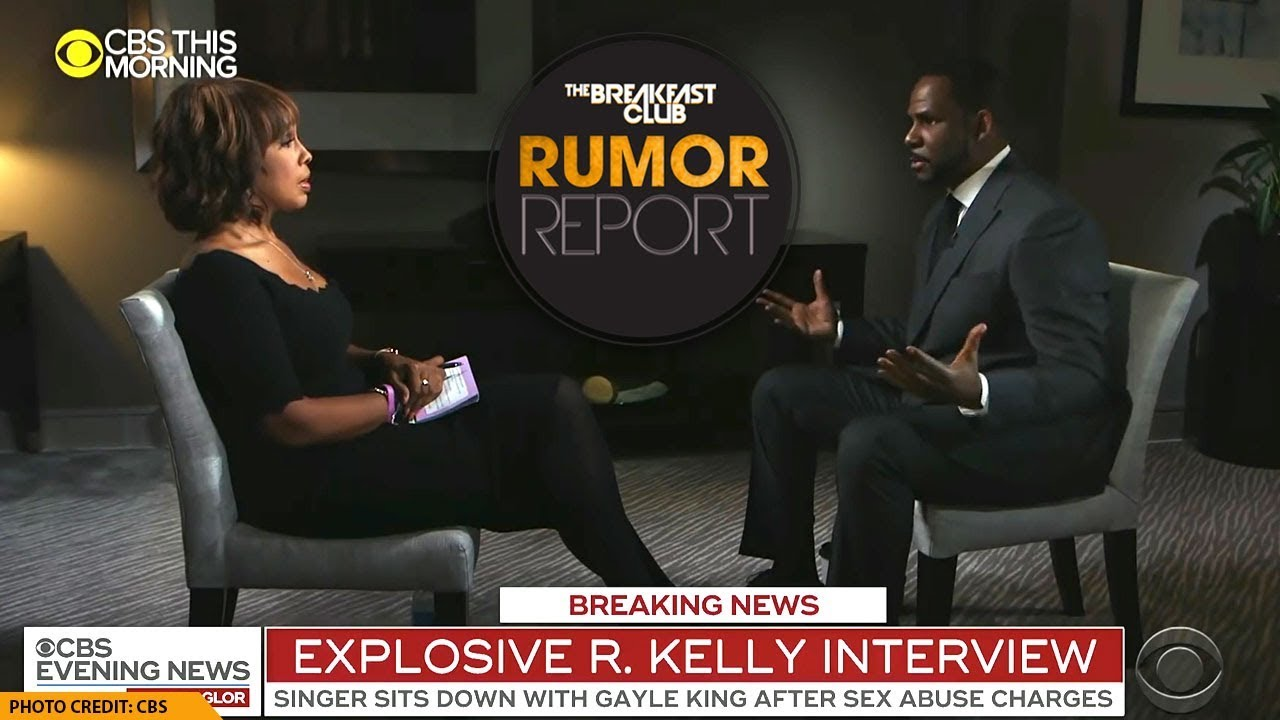 R Kelly Breaks Down During Explosive Interview With Gayle King Youtube