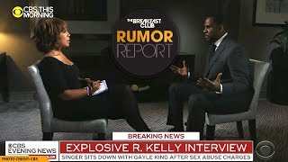 R. Kelly Breaks Down During 'Explosive' Interview With Gayle King
