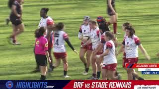 Blagnac Rugby Féminin / Rennes  - Highlights