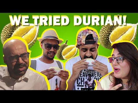 We tried Durian!   Bekaar Films   Ali Gul Pir   Junaid Akram