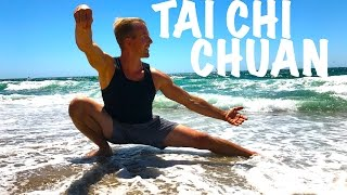 20 Minute Tai Chi Chuan Routine ☯� Learn Real Tai Ji Quan