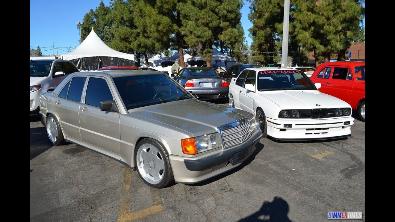 Bmw Day At Supercar Sunday E30 M3 And W201 190e 2 3 Amg