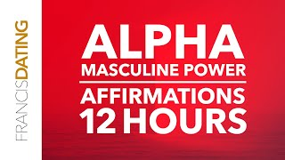 Alpha Male Affirmations | Powerful Subliminal Affirmations for Sleep