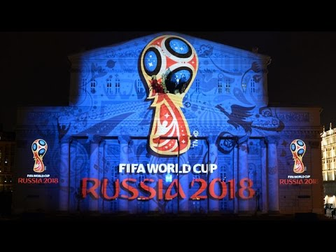 "2018 FIFA World Cup logo unveiled in Moscow | ""Russia's Heart & Soul"""