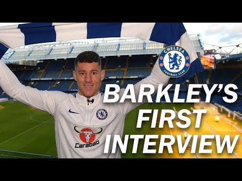 EXCLUSIVE: Ross Barkley's First Interview As A Chelsea Player