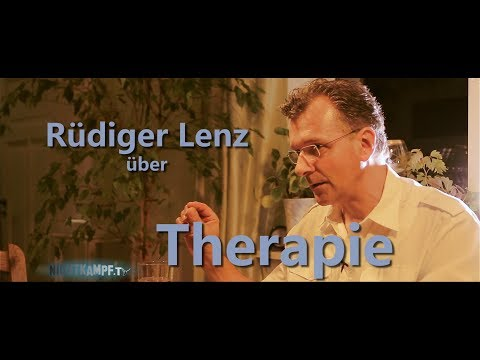 Rüdiger Lenz über Therapie | Nichtkampf.tv - THEMA